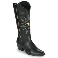 Cipők Női Városi csizmák Fericelli NISCOME Fekete  / Arany