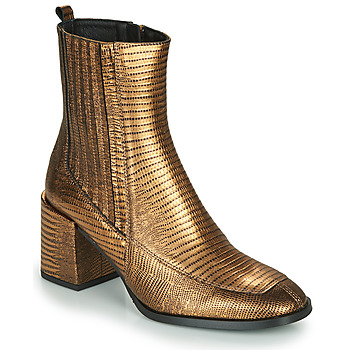 Cipők Női Bokacsizmák Fericelli NAKE Arany