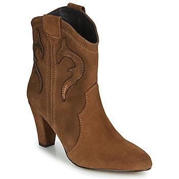 Cipők Női Bokacsizmák Fericelli NARLOTTE Teve / Arany
