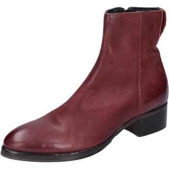 Cipők Női Bokacsizmák Moma BM531 Ibolya