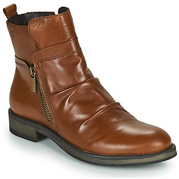 Cipők Női Csizmák Casual Attitude NERMITE Teve