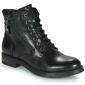 Cipők Női Csizmák Casual Attitude NUNAISE Fekete