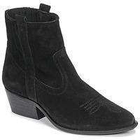 Cipők Női Bokacsizmák Casual Attitude NAUTERELLE Fekete
