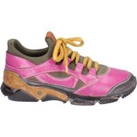 Cipők Női Rövid szárú edzőcipők Moma BM547 Rózsaszín