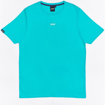 Ruhák Fiú Rövid ujjú pólók Wrung T-shirt  Caution Reload bleu turquoise/bleu