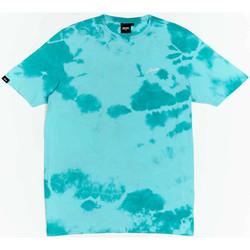 Ruhák Fiú Rövid ujjú pólók Wrung T-shirt  New Sign bleu turquoise/blanc/noir