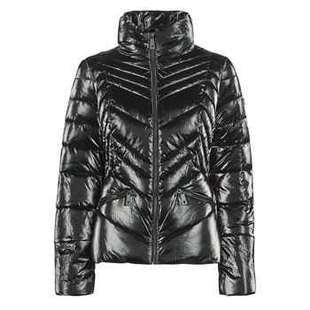 Ruhák Női Steppelt kabátok Guess TAMMIE Fekete