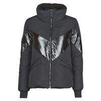 Ruhák Női Steppelt kabátok Guess ORIETTA REVERSIBLE Fekete