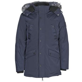 Ruhák Férfi Parka kabátok Guess COOL WINTER Tengerész