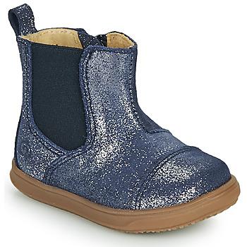 Cipők Lány Csizmák Citrouille et Compagnie FEPOL Tengerész