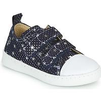 Cipők Lány Rövid szárú edzőcipők Citrouille et Compagnie NADIR Tengerész / Ezüst