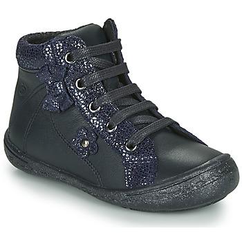Cipők Lány Magas szárú edzőcipők Citrouille et Compagnie NASTO Tengerész