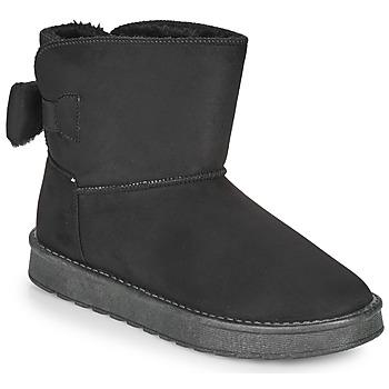 Cipők Női Csizmák Moony Mood NOWER Fekete