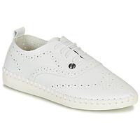 Cipők Női Gyékény talpú cipők Les Petites Bombes DIVA Fehér