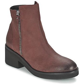 Cipők Női Csizmák Vic ASCILLE Bordó