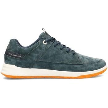Cipők Férfi Rövid szárú edzőcipők Caterpillar Quest Zöld