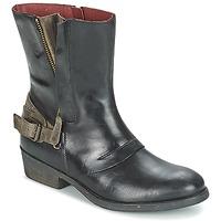 Cipők Női Csizmák Kickers AMERIKO Fekete  / Szürke