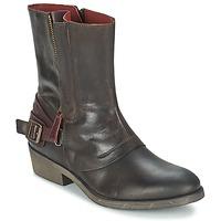 Cipők Női Csizmák Kickers AMERIKO Barna