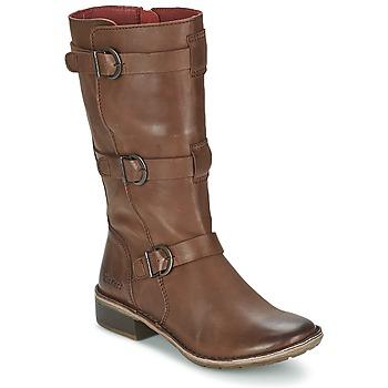 Shoes Női Városi csizmák Kickers GROWUP Barna / Sötét