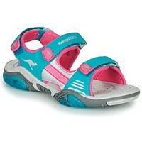 Cipők Gyerek Sportszandálok Kangaroos Sandalshine Kék / Rózsaszín