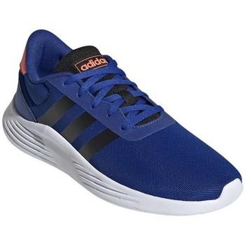 Cipők Fiú Futócipők adidas Originals Lite Racer Białe,Niebieskie,Pomaranczowe