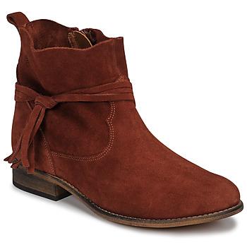 Cipők Női Csizmák Betty London NENESS Téglavörös