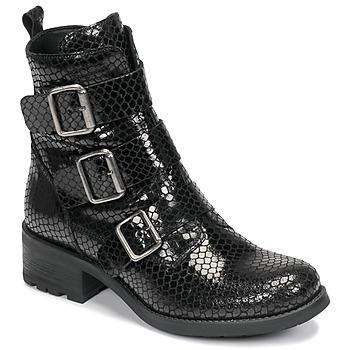 Cipők Női Csizmák Betty London NANISS Fekete