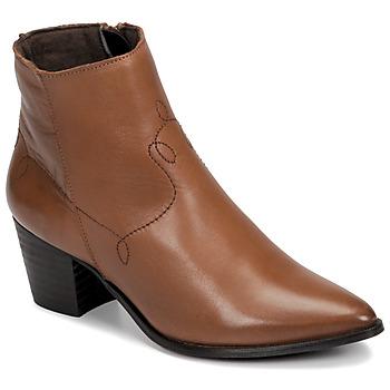 Cipők Női Bokacsizmák Betty London NIMIE Teve