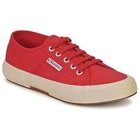Cipők Rövid szárú edzőcipők Superga 2750 CLASSIC Barna / Piros