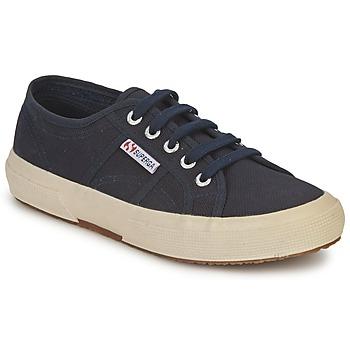 Cipők Rövid szárú edzőcipők Superga 2750 CLASSIC Tengerész
