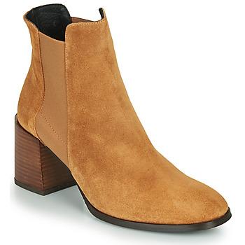 Cipők Női Bokacsizmák Fericelli NONUTS Teve