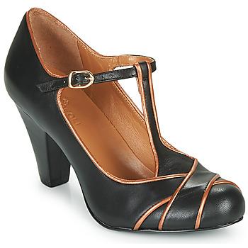 Cipők Női Félcipők Cristofoli MESTIS Fekete  / Bronz