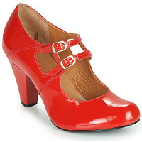 Cipők Női Félcipők Cristofoli MASTIS Piros / Fényes