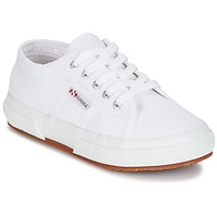 Shoes Gyerek Rövid szárú edzőcipők Superga 2750 KIDS Fehér