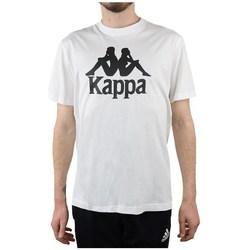 Ruhák Férfi Rövid ujjú pólók Kappa Caspar Tshirt Fehér