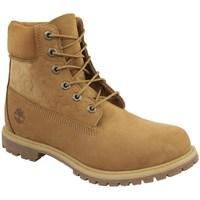 Cipők Női Magas szárú edzőcipők Timberland 6 IN Premium Boot W Miodowe