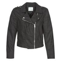 Ruhák Női Bőrkabátok / műbőr kabátok JDY JDYNEW PEACH Fekete