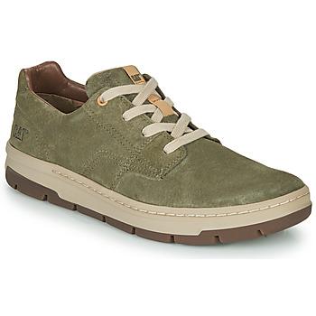 Cipők Férfi Rövid szárú edzőcipők Caterpillar RIALTO NUBUCK Zöld