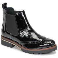 Cipők Női Csizmák Betty London NAVA Fekete  / Fényes