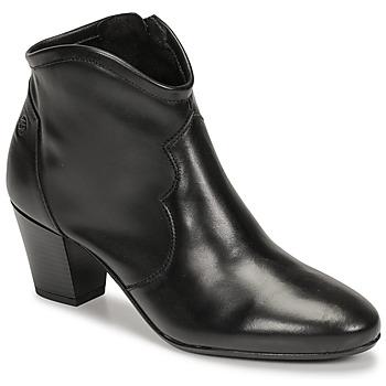 Cipők Női Bokacsizmák Betty London NORIANE Fekete
