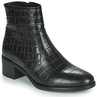 Cipők Női Bokacsizmák Betty London NOUME Fekete