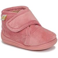 Cipők Lány Mamuszok Citrouille et Compagnie HALI Öreg / Rózsaszín