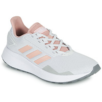 Cipők Rövid szárú edzőcipők adidas Performance DURAMO 9 Szürke / Rózsaszín