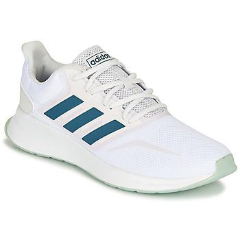 Cipők Rövid szárú edzőcipők adidas Performance RUNFALCON Fehér