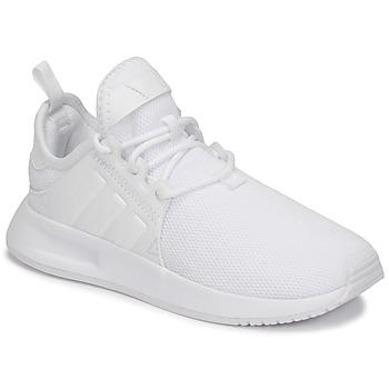 Cipők Gyerek Rövid szárú edzőcipők adidas Originals X_PLR C Fehér