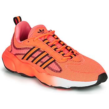 Cipők Női Rövid szárú edzőcipők adidas Originals HAIWEE J Narancssárga / Fekete