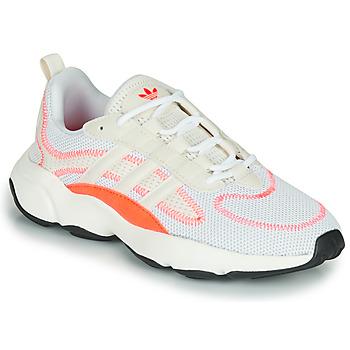 Cipők Gyerek Rövid szárú edzőcipők adidas Originals HAIWEE W Fehér
