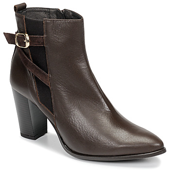 Cipők Női Bokacsizmák So Size AURELIO Barna