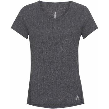Ruhák Női Rövid ujjú pólók Odlo T-shirt femme  Lou Linencool gris