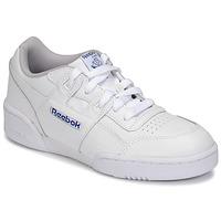 Cipők Gyerek Rövid szárú edzőcipők Reebok Classic WORKOUT PLUS Fehér
